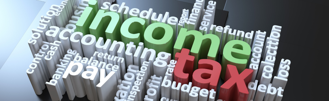 Income Tax Submission Banner