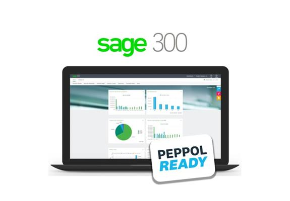 Sage 300 is Peppol ready