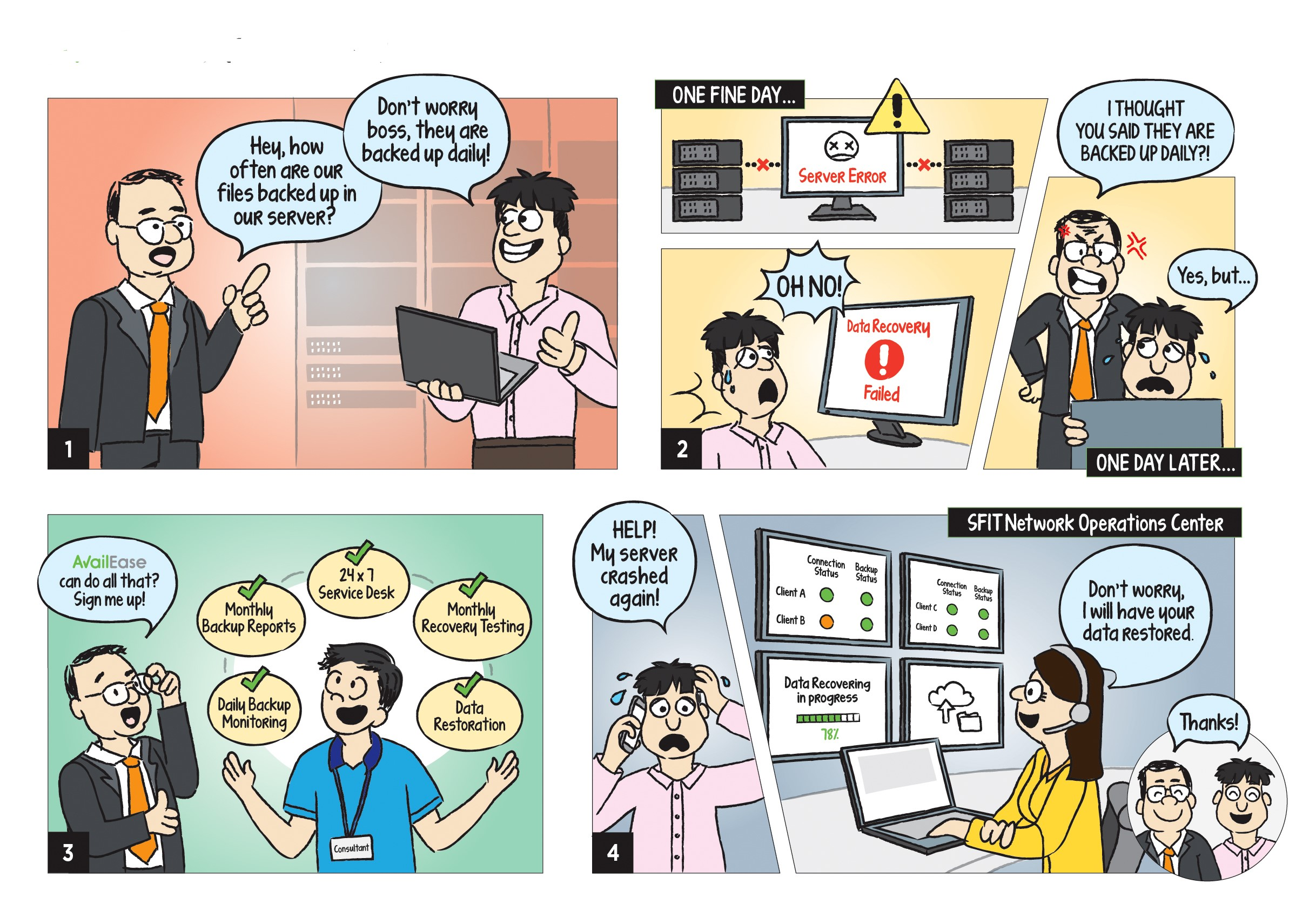 Comic Strip_Managed Backup
