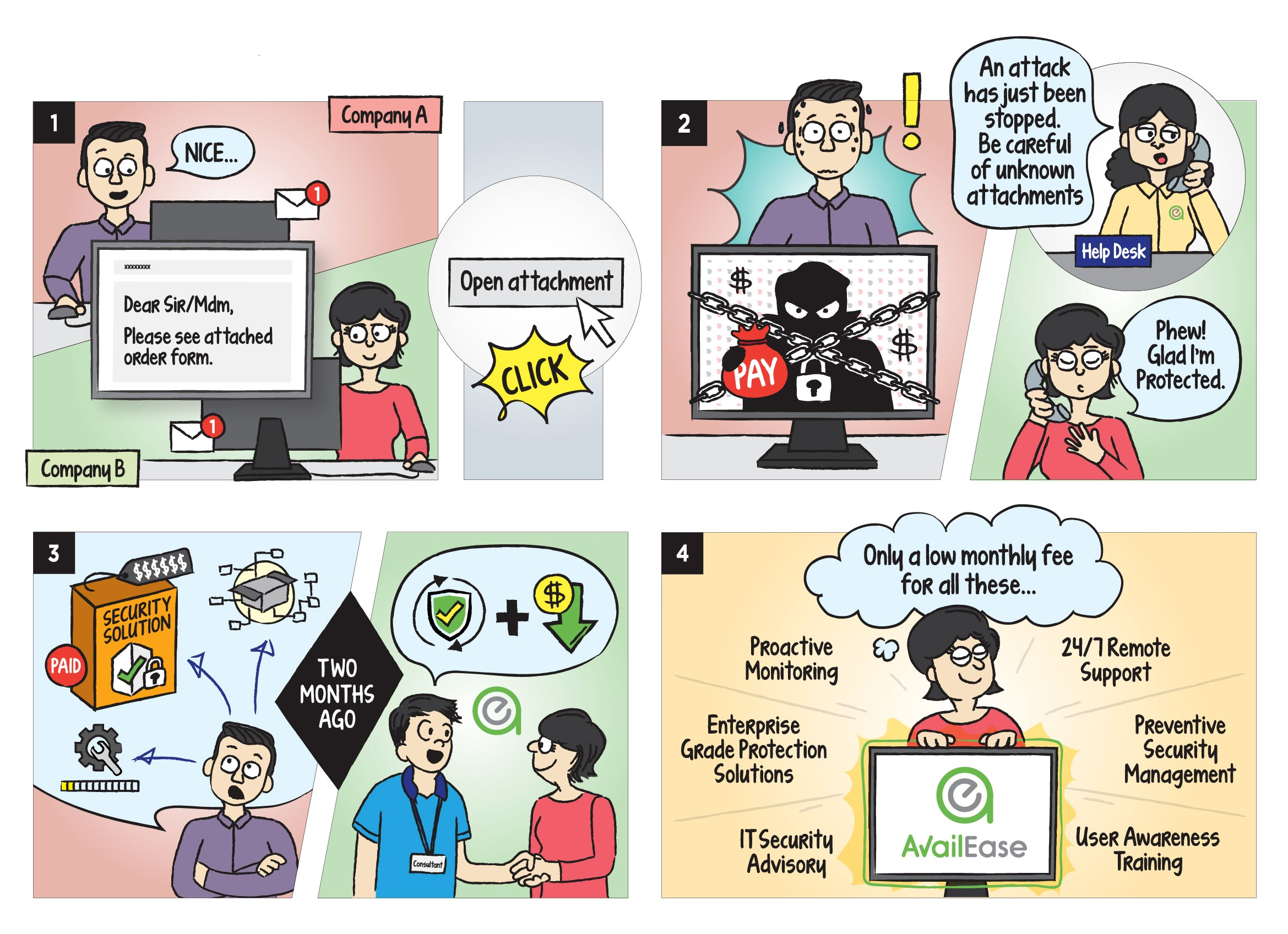 Comic Strip_Managed security